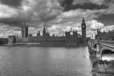 Free HDR Westminster Royalty Free Stock Photography - 14748257