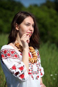 Free Ukrainian Girl Royalty Free Stock Photo - 14748595