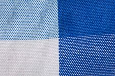 Free Close-Up Of Gingham Fabric Stock Photography - 14748782