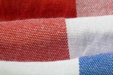 Free Close-Up Of Gingham Fabric Royalty Free Stock Image - 14748796