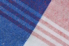 Free Close-Up Of Gingham Fabric Royalty Free Stock Photo - 14748835