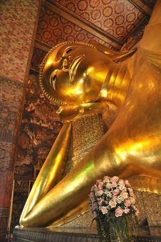 Free Big Buddha Sleep Face Shore Stock Photo - 14749170