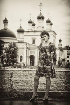 Free Parishioner-girl Stock Photos - 14749233