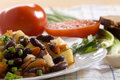 Free Chinese Dish - Salad With Beans Stock Photo - 14750170