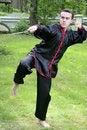 Free Man Exercising Martial Arts Royalty Free Stock Photo - 14754935