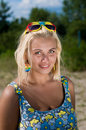 Free Portrait Of  Blond Woman Stock Images - 14755814