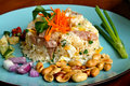 Free Fried Rice With Fermented Sausage Royalty Free Stock Photos - 14757128
