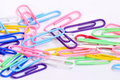 Free Colorful Paper Clips Stock Photography - 14759922