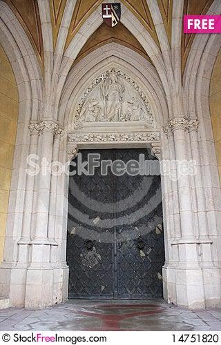 Katholisches Pfarramt St. Othmar Stock Photo