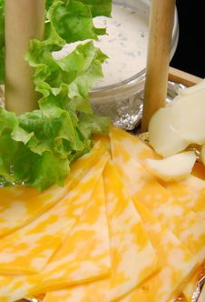Free Cheese With White Sauce Stock Photo - 14750020