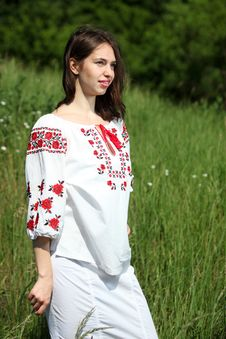 Free Ukrainian Girl Royalty Free Stock Photography - 14750157