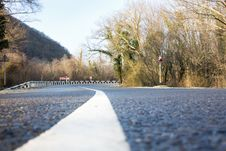 Free Paved Road In The Forest Stock Photos - 14750173