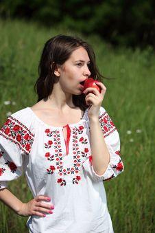 Free Ukrainian Girl Royalty Free Stock Photos - 14750188