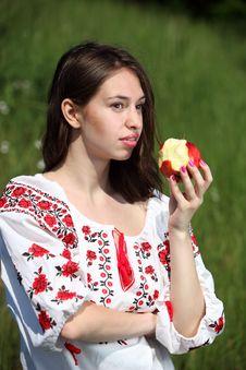 Free Ukrainian Girl Royalty Free Stock Photo - 14750195