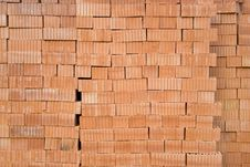 Free Red Bricks Royalty Free Stock Photography - 14750357