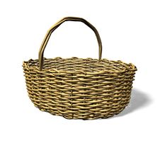 Free Wood Weave Basket Stock Image - 14750431