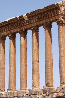 Free Roman Columns Stock Image - 14750601
