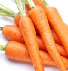 Ripe Fresh Carrots Stock Photos