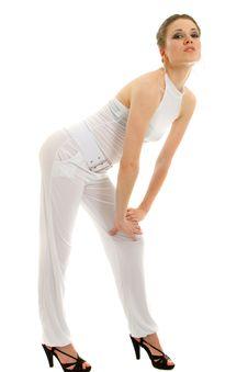 Free Young Blonde Model - Highkey Shot Stock Image - 14751821