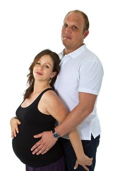 Free Young Couple Awaiting First Child Royalty Free Stock Photos - 14751888