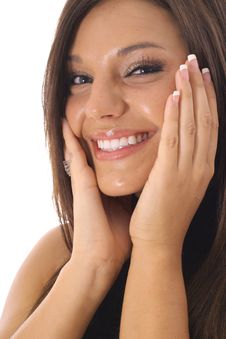 Gorgeous Latino Model Royalty Free Stock Image