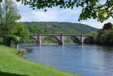 Free Bridge Over River Stock Photo - 14753140