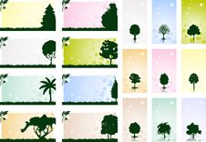 Free Frame With A Tree3 Stock Photos - 14753503