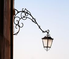Free Lamp On The Wall. Royalty Free Stock Photos - 14753928