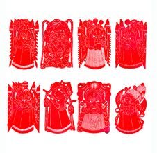 Free Chinese Paper-cut Royalty Free Stock Images - 14753939