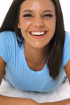 Free Beautiful Woman Laughing Stock Photo - 14754060