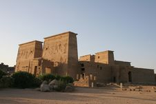 Free Egypt Temple Of Philae Exterior Stock Photo - 14754120