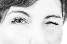 Free Beautiful Female Eye Royalty Free Stock Photos - 14754178
