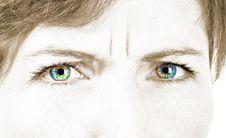 Free Beautiful Female Eye Royalty Free Stock Images - 14754239