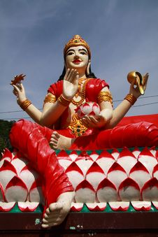 Free Hindu Goddess, Laxmi Stock Photo - 14755150