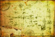 Free Grunge Textured Background Stock Photography - 14755252