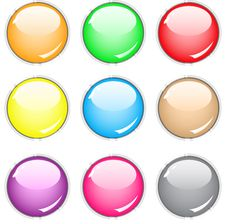Free Buttons Royalty Free Stock Image - 14755356