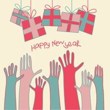Free New Year Card Stock Photos - 14755793
