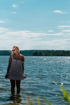 Free Blond Girl Royalty Free Stock Photography - 14755817