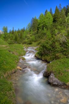 Free Alpine Mountain River Stock Photos - 14756473