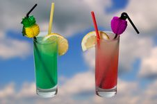 Free Summer Drinks Stock Images - 14756674