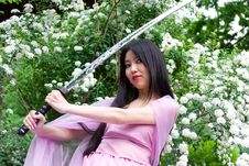 Free Beutiful Japanese Woman Royalty Free Stock Photography - 14756967