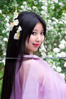 Free Beutiful Japanese Woman Stock Photos - 14757263