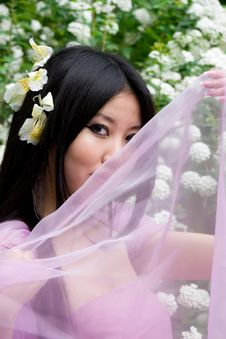Free Beutiful Japanese Woman Royalty Free Stock Photography - 14757317