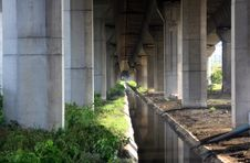 Free Tunnel Under Freeway Stock Photography - 14757352