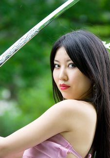 Free Beutiful Japanese Woman Royalty Free Stock Photo - 14757455