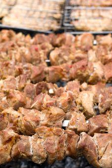 Free Kebabs Royalty Free Stock Photo - 14757715