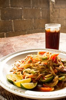Free Papaya Salad Royalty Free Stock Image - 14759516