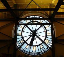 Free Orsay Museum Clock Stock Photos - 14759823
