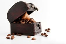 Free Coffee Beans Treasure Stock Images - 14759904