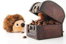 Free Coffee Beans Treasure Stock Images - 14759974
